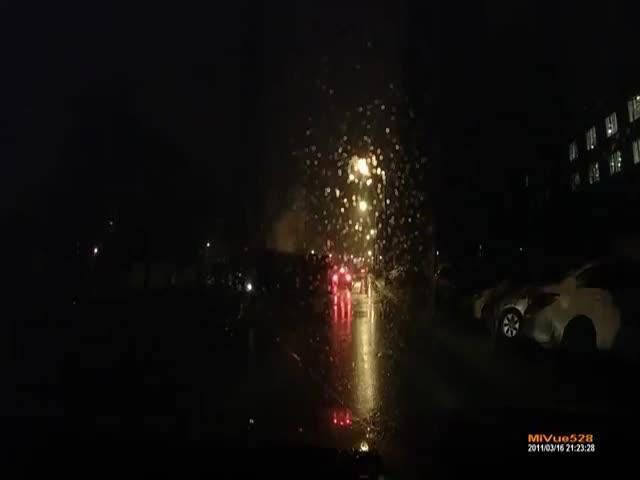 ДТП, в результате которого 15 000 воронежцев остались без света