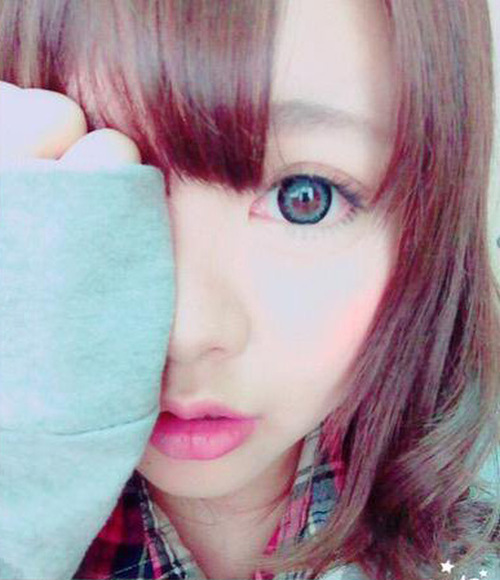 Японка показала по-настоящему удачный макияж (3 фото)