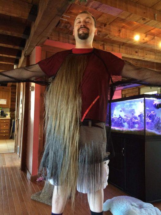 Реалистичный костюм Чубакки своими руками (24 фото)