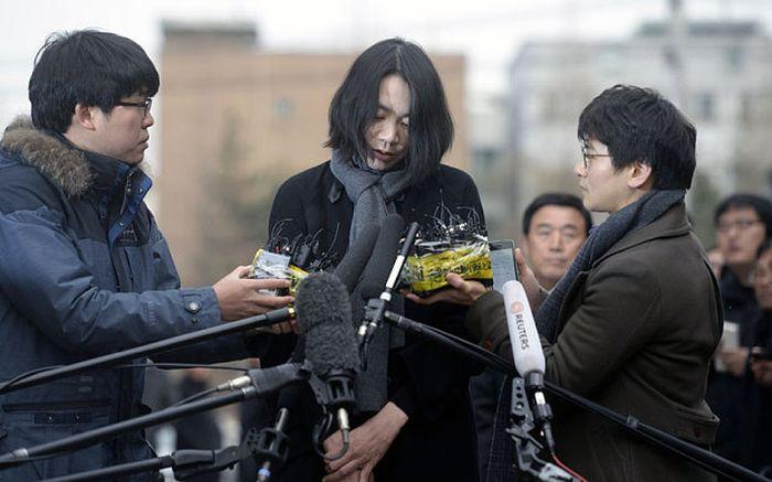 Справедливое наказание дочери президента авиакомпании Korean Air Чо Ян-хо (7 фото)