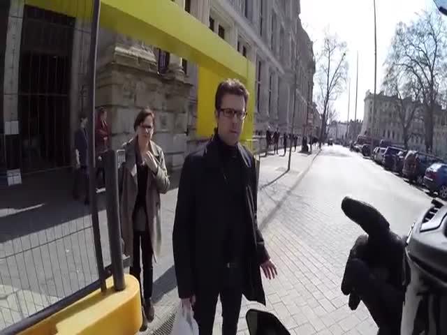 Бесстрашные британские пешеходы