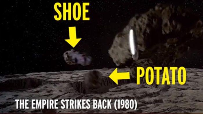 Неординарное решение Джорджа Лукаса во время съемок «Звездных войн» (3 фото)