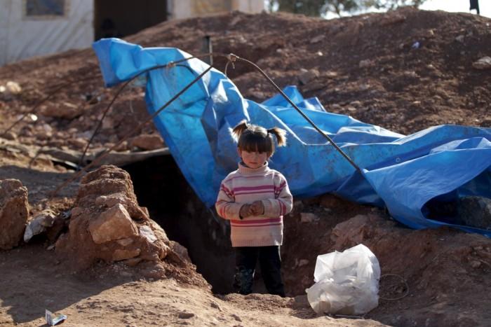 Дети подземелья в Сирии (19 фото)