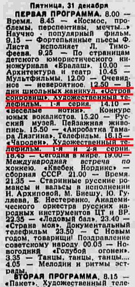 Советские фильмы, впервые показанные на Новый год (25 фото)
