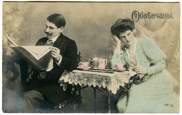 Странные открытки минувших лет (26 фото)