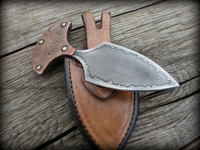 Пуш-даггер - необычный нож для самообороны родом из «Дикого Запада» (30 фото)