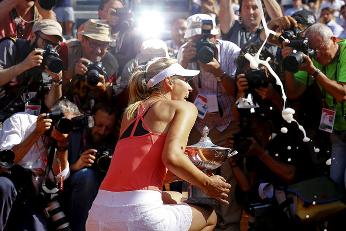 Самые лучшие спортивные снимки минувшего года (32 фото)