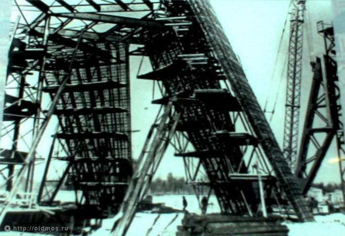 Как строилась Останкинская телебашня (26 фото)