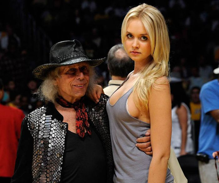 фото с молодой женой