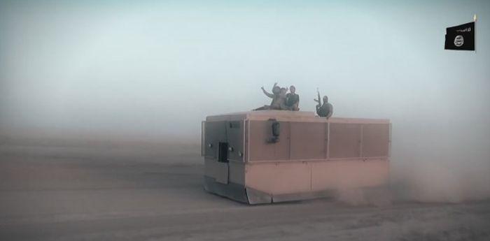 Самодельные бронемашины с Ближнего Востока (34 фото)