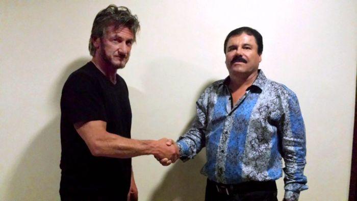Американский актер Шон Пенн оказался под следствием из-за интервью с наркобароном Хоакином Гусманом Лоэрой (3 фото + видео)