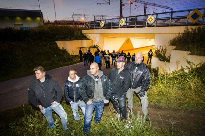 В Финляндии появились добровольные патрули, следящие за правопорядком в городах (5 фото)