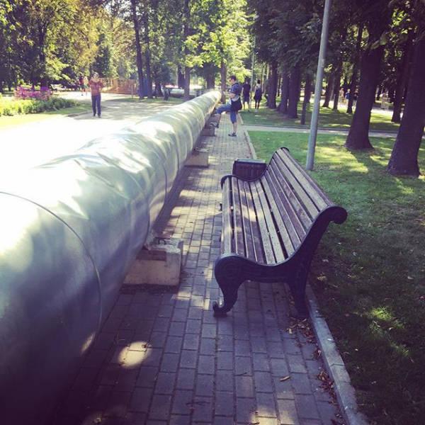 Фото, которые возможно было сделать только в России. Часть 18 (45 фото)