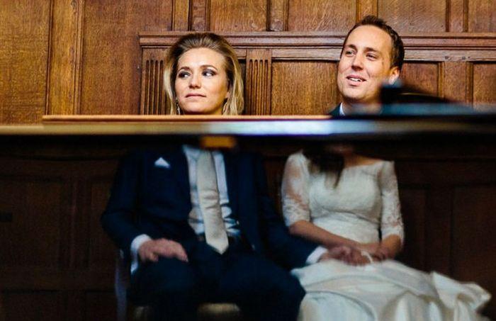 «Испорченные», но прикольные свадебные фото (20 фото)