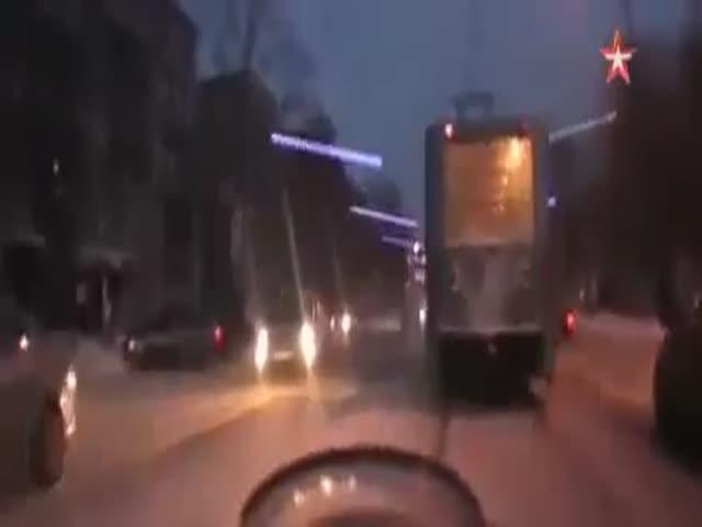 Задержание пьяного водителя