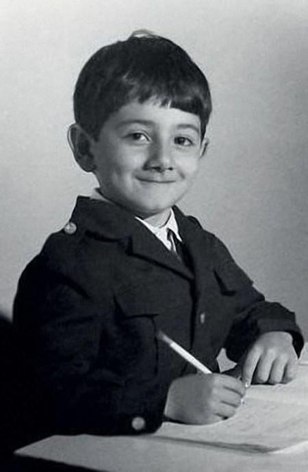 Детские фото наших знаменитостей (17 фото)