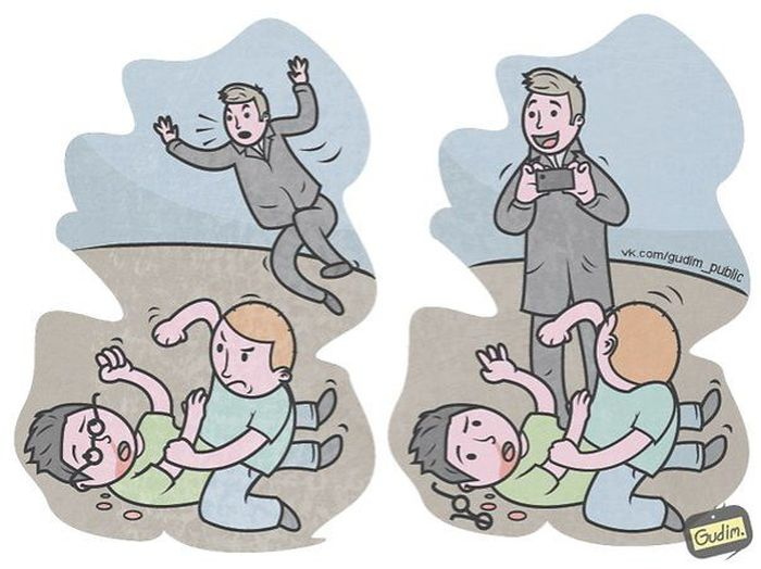 Современная реальность в саркастических рисунках Антона Гудима (40 картинок)