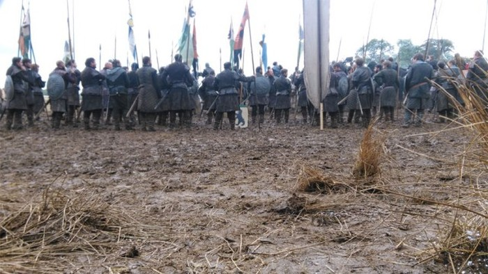 Фотографии со съемок шестого сезона «Игры престолов» (22 фото)