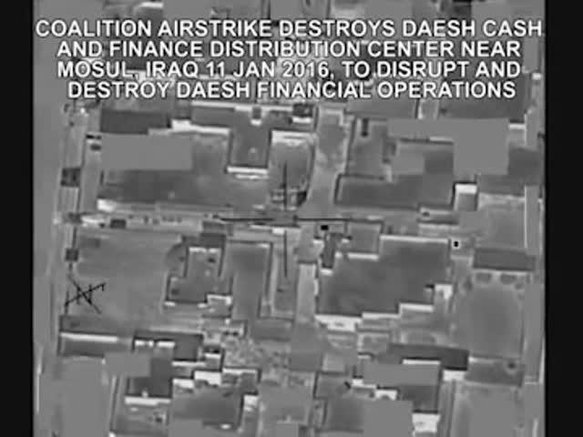 Американские ВВС разбомбили денежное хранилище ИГИЛ в Ираке