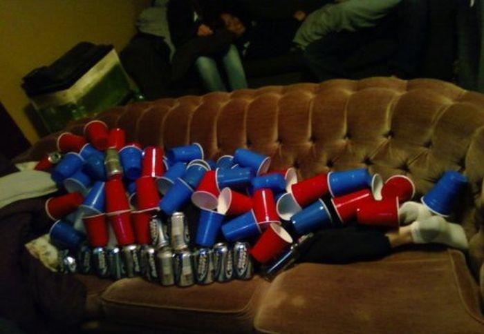 Безумные поступки, совершенные по пьяни (26 фото)