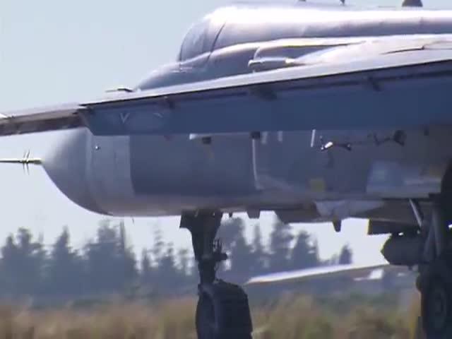Боевой вылет бомбардировщика Су-24М