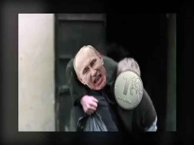 Путин пытается спасти рубль