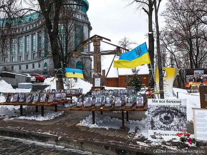 Центр Киева в эти дни (42 фото)