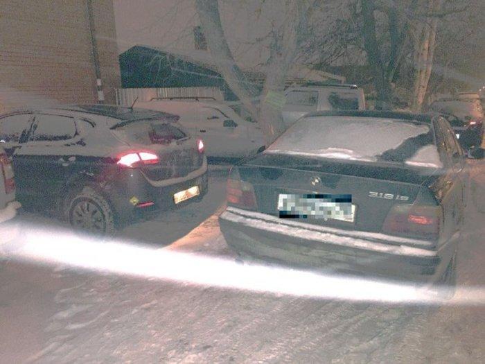 Хороший урок для любителя неправильной парковки (3 фото)