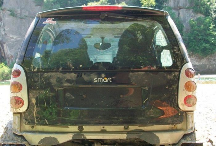 Внедорожник на базе сити-кара Smart for two (12 фото)