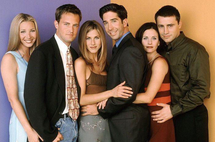 Звезды сериала «Друзья» встретились спустя 12 лет (2 фото)