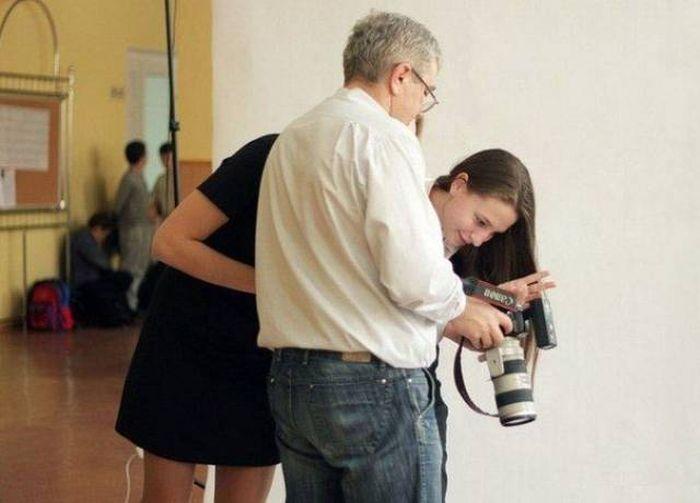 Подборка забавных фотографий из разряда «показалось» (59 фото)