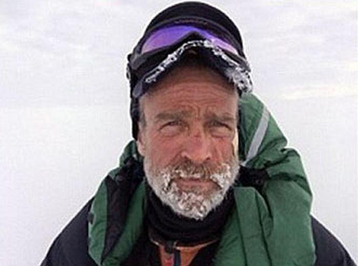 Британский исследователь Генри Уорсли умер, пытаясь в одиночку пересечь Антарктиду (6 фото)