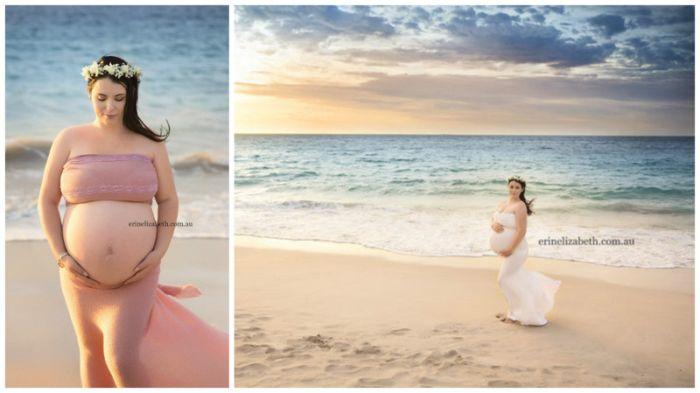 Так выглядит женщина, беременная пятерняшками (6 фото)