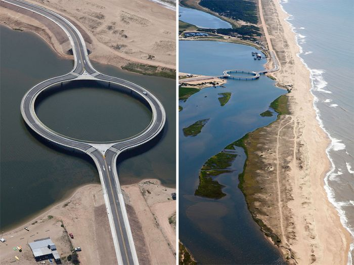 Мост, который помогает любоваться природной красотой (5 фото)