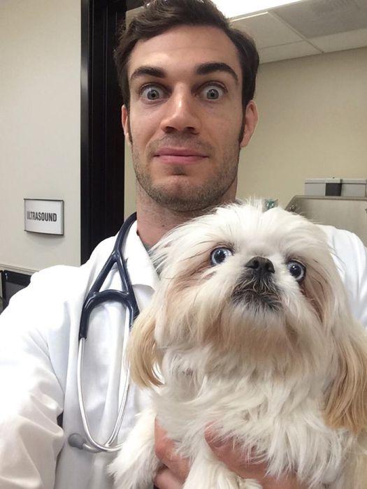 Эван Антин - самый сексуальный ветеринар в мире (33 фото)