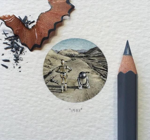 Прекрасные миниатюры от Лоррейн Лутс (33 рисунка)