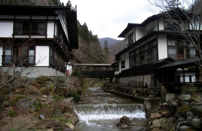 Японская гостиница Хоси - самая старая гостиница в мире