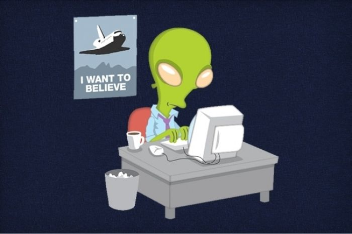 Смешные комиксы из рубрики «где-то в параллельной Вселенной» (20 картинок)