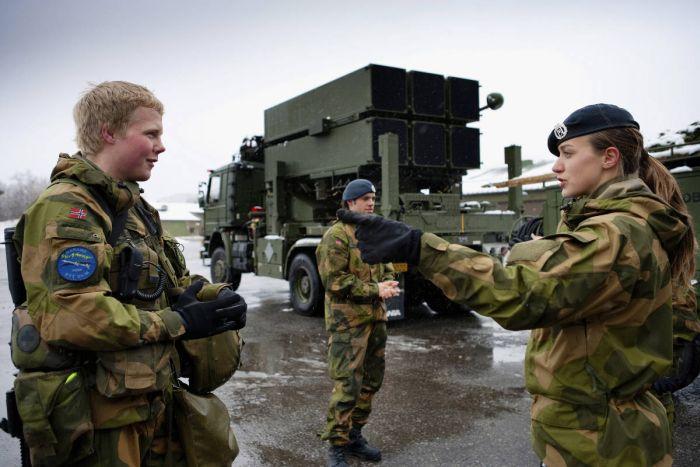 Сексуальная озабоченность армия