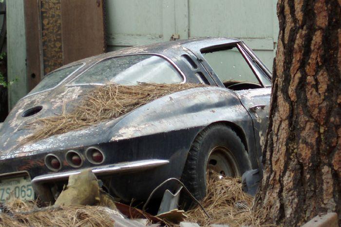 Самые редкие машины, брошенные владельцами (22 фото)