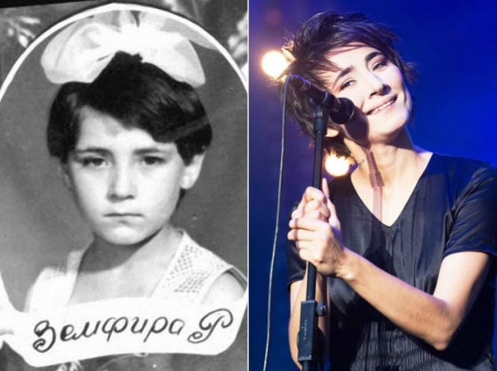 Культовые рок-звезды в детстве и юности (25 фото)