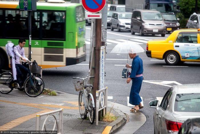 Необычная жизнь японцев (71 фото)