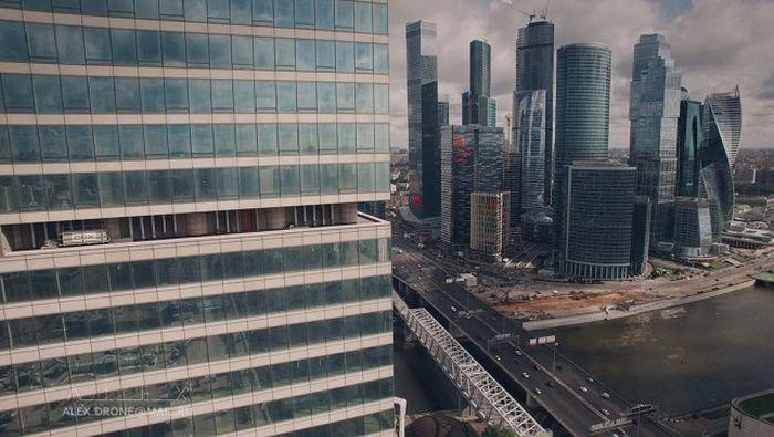 Великолепные снимки Москвы, сделанные при помощи дрона (37 фото)