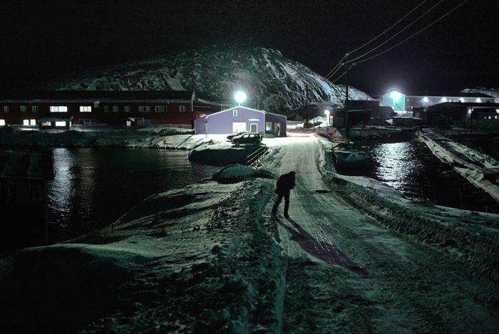 Полярная ночь в Мурманске (27 фото)