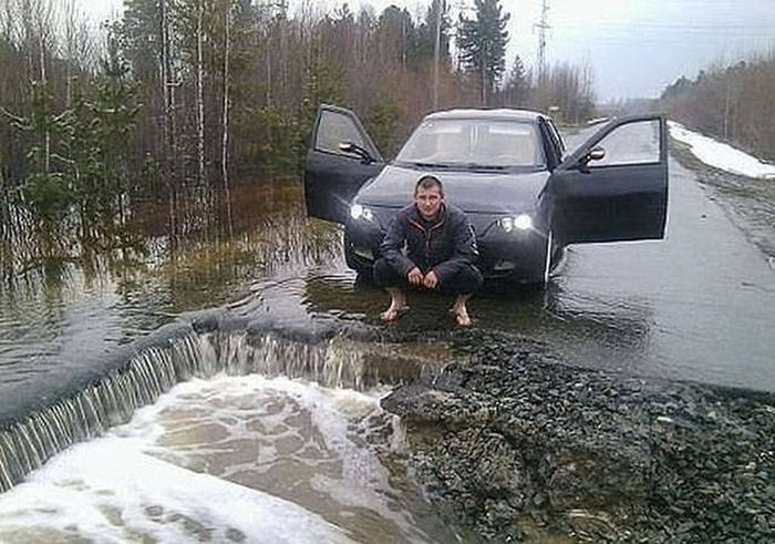 Фото, которые возможно было сделать только в России. Часть 20 (41 фото)