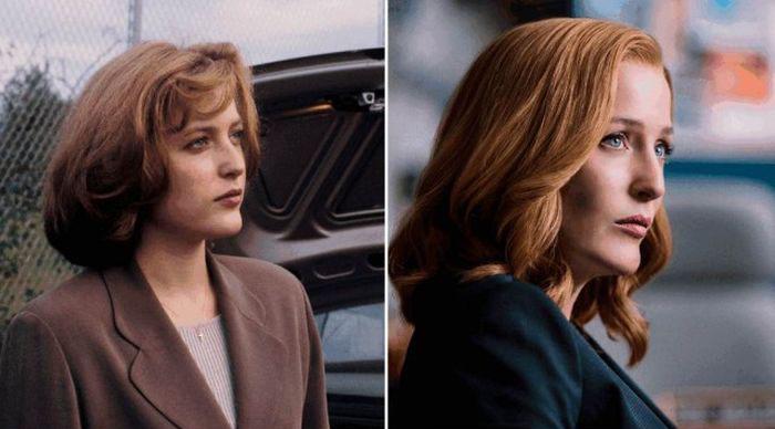 Актеры «Секретных материалов» тогда и сейчас (6 фото)