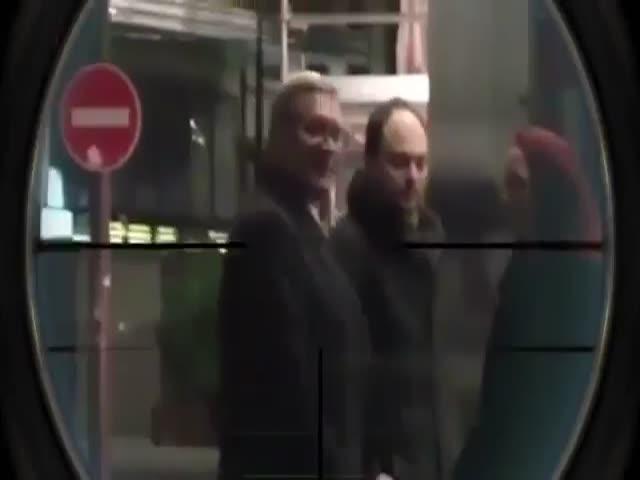 Кадыров опубликовал видео с Касьяновым «под прицелом»