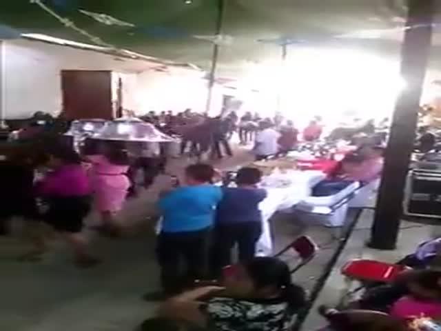 Веселая перуанская свадьба