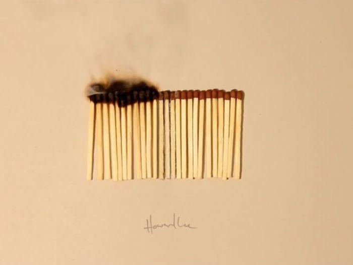 Невероятно реалистичные рисунки Ховарда Ли (20 картинок)