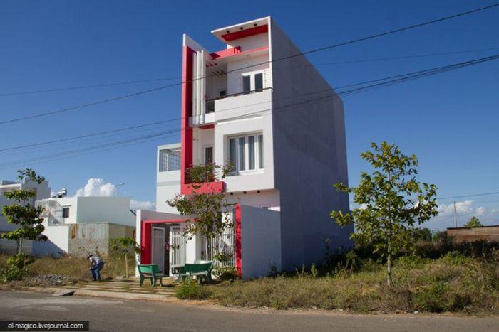 Странные дома вьетнамских богачей (9 фото)